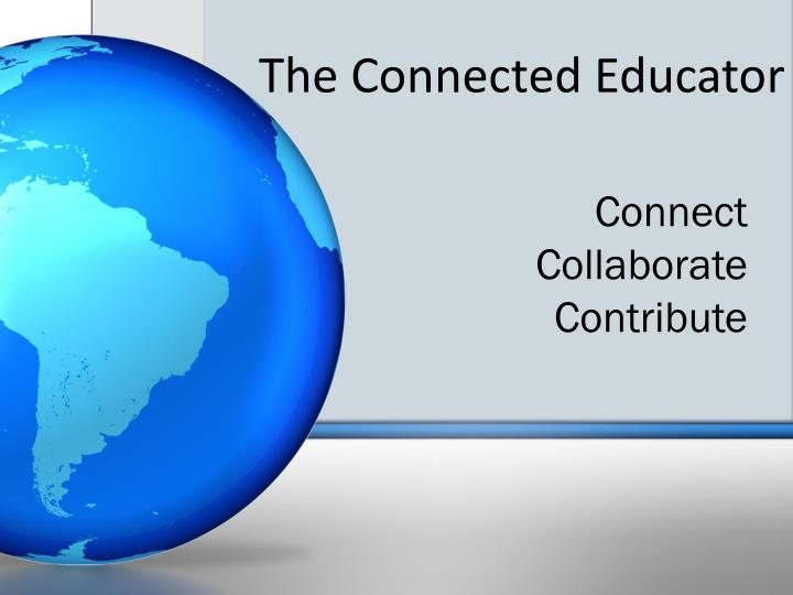 the connected educator n.