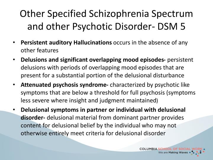 ppt schizophrenia and other psychotic disorders powerpoint