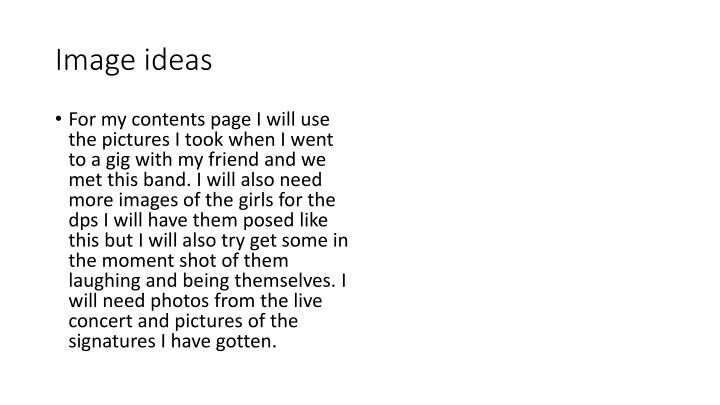 Image ideas