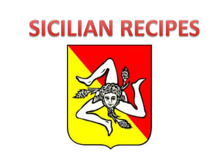 SICILIAN RECIPES