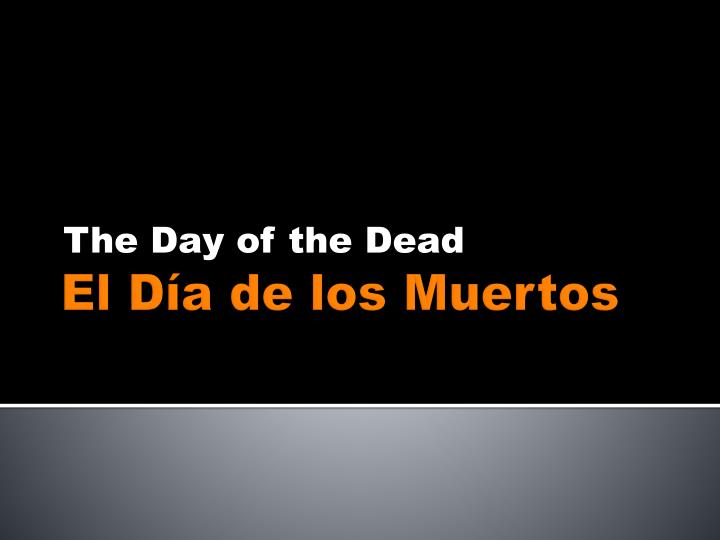 the day of the dead n.