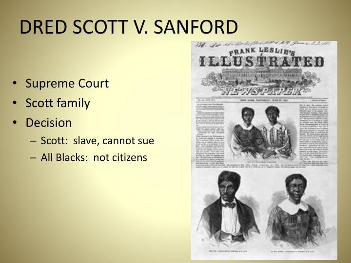 DRED SCOTT V. SANFORD