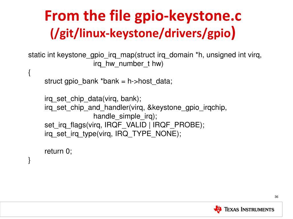 PPT - KeyStone Interrupts PowerPoint Presentation - ID:2036510