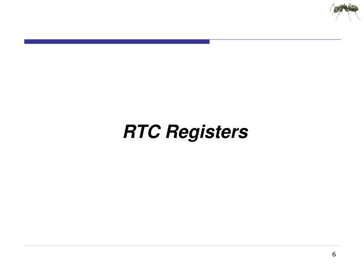 RTC Registers