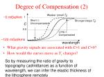 degree of compensation 2