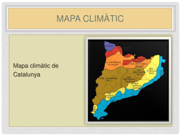 Mapa climàtic