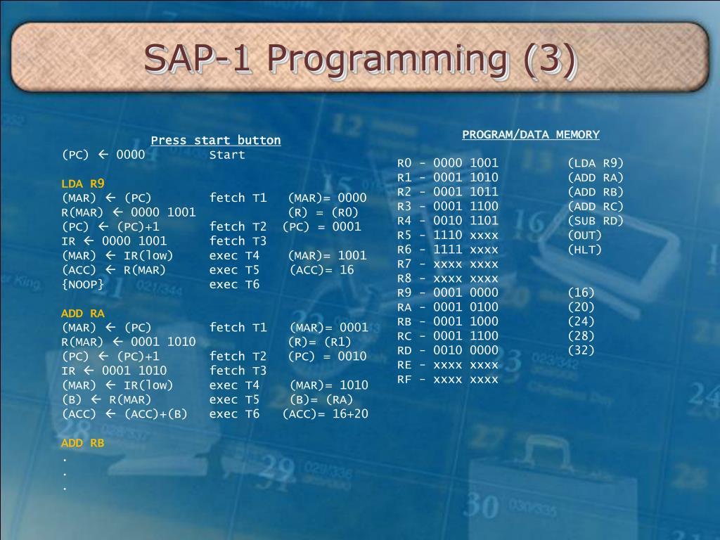 PPT - AKT211 – CAO 03 – SAP-1 PowerPoint Presentation - ID