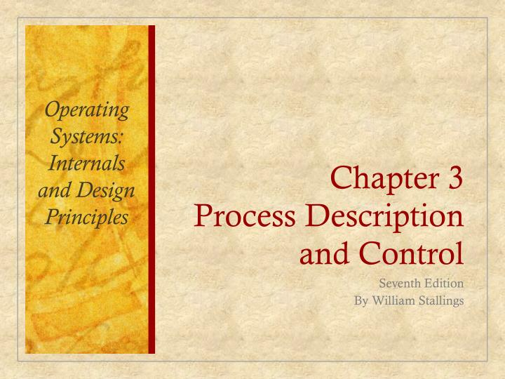 chapter 3 process description and control n.