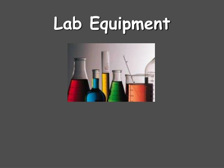 lab equipment n.