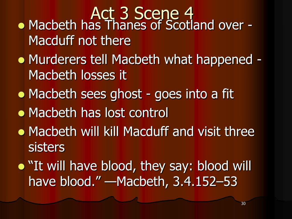 Ppt Macbeth Woo Hooo Powerpoint Presentation Free Download Id 2036860 Sparknote Act 3 Scene 4 6