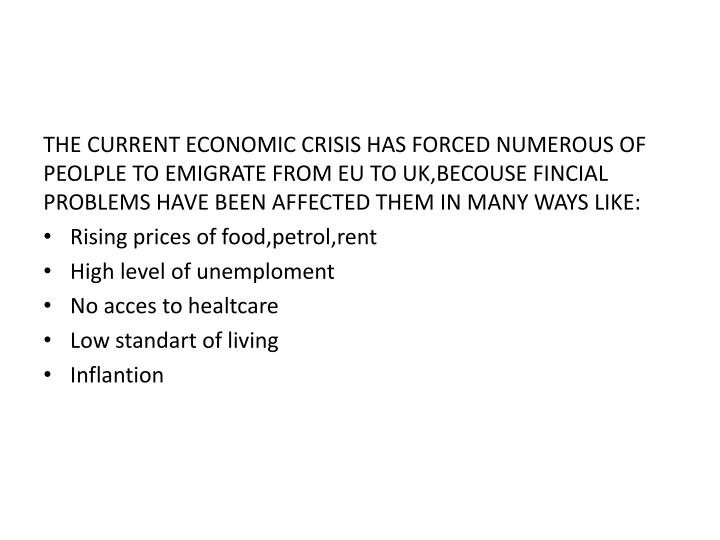current economic problems essay The next basic problem of an economy is to decide about the techniques or methods to be used in order to produce the required goods this problem is primarily dependent upon the availability of resources within the economy.