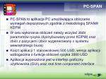 pc span
