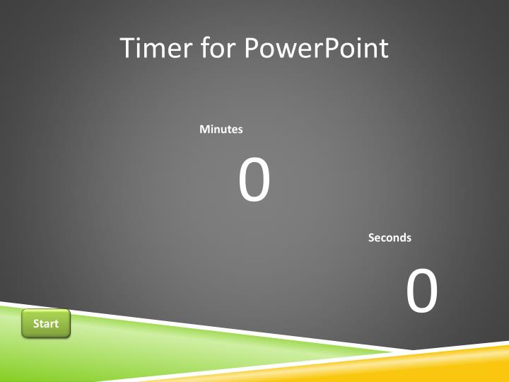 timer for powerpoint n.