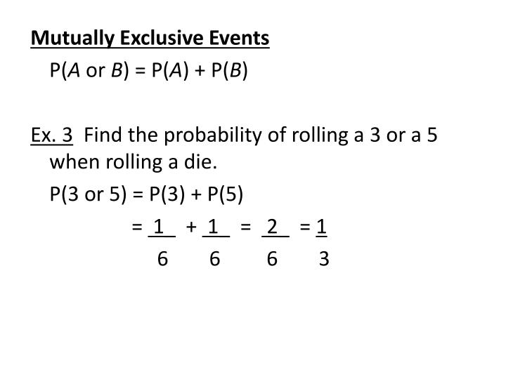 how to find probability of compound events