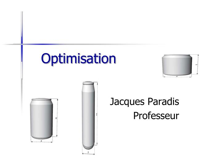 optimisation n.