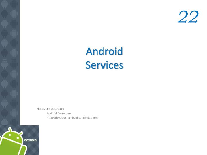android services n.
