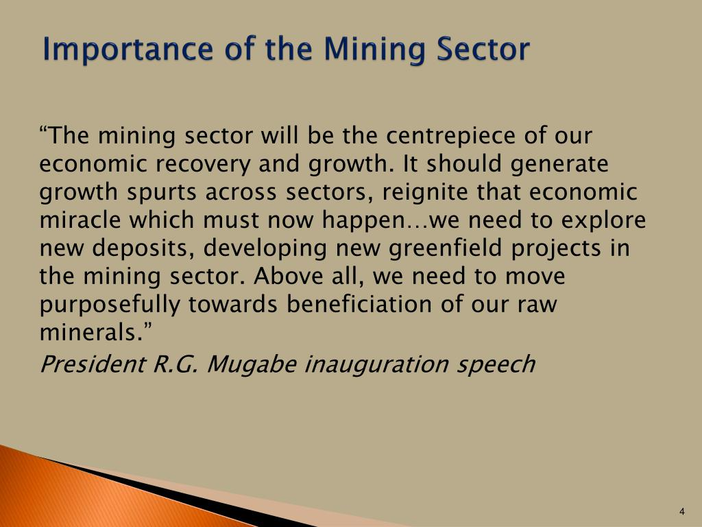 PPT - Overview of Zimbabwe's Mining Sector PowerPoint Presentation