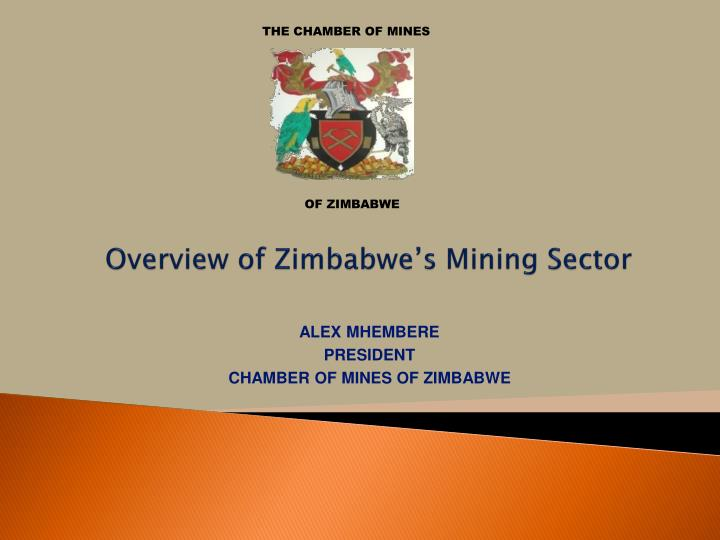 overview of zimbabwe s mining sector n.