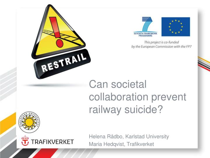 can societal collaboration prevent railway suicide n.