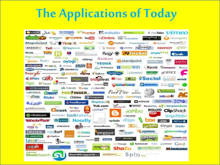 The Applications of Today