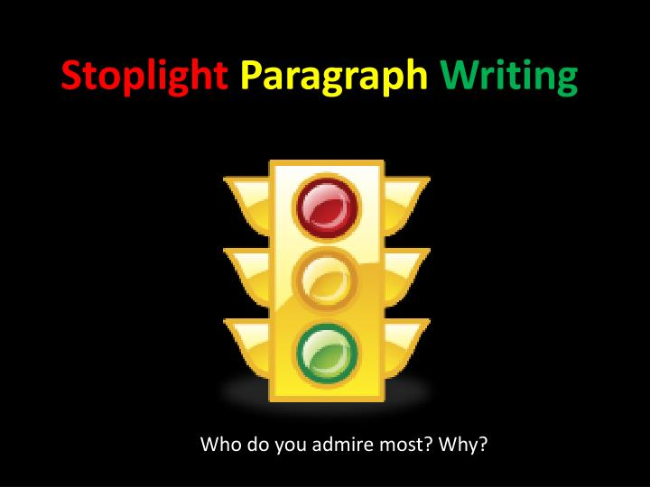 paragraph writing powerpoint presentations
