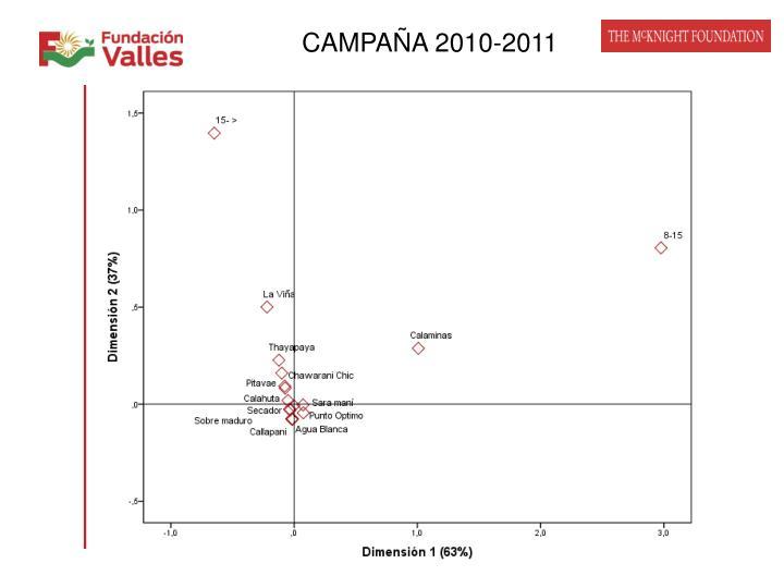 CAMPAÑA 2010-2011