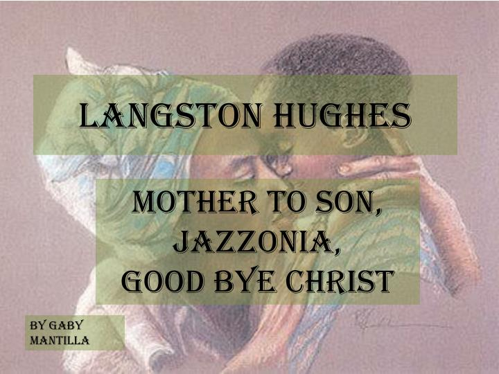 langston hughes n.