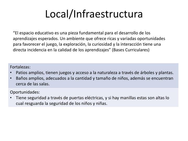 Local infraestructura