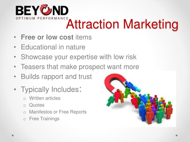 how to create a marketing macine