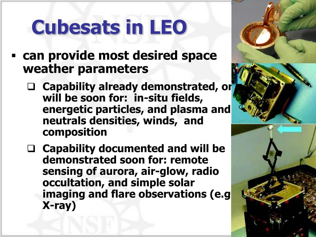 PPT - Cubesats for Space Weather PowerPoint Presentation