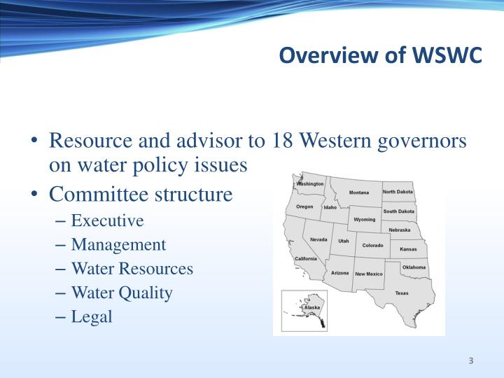 Overview of wswc