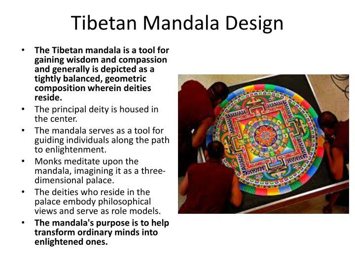 Tibetan Mandala Design