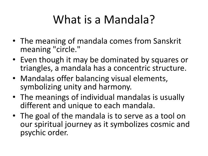 What is a mandala