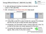 energy efficient ethernet ieee 802 3az eee