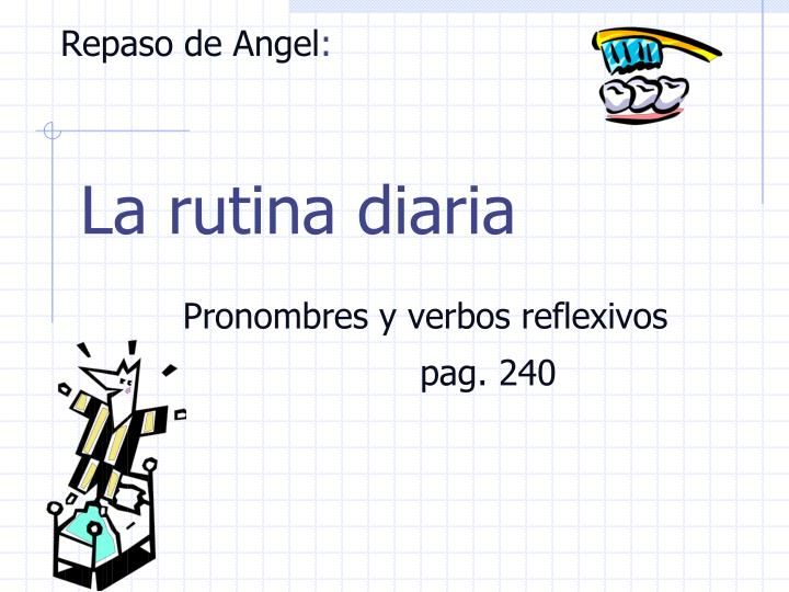 Repaso de angel
