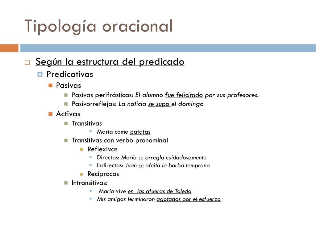 Ppt La Oración Simple Powerpoint Presentation Free