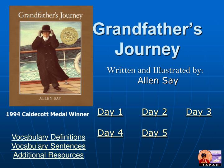 grandfather s journey n.