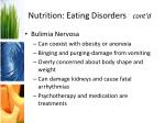 nutrition eating disorders cont d
