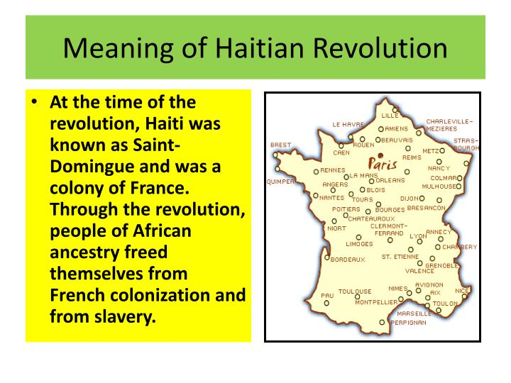 impact on the haitian revolution to Haitian revolutions: crash course world history #30 crashcourse  and in 1789 they couldn't help but hear about the revolution underway in france all the talk of liberty, equality, and.
