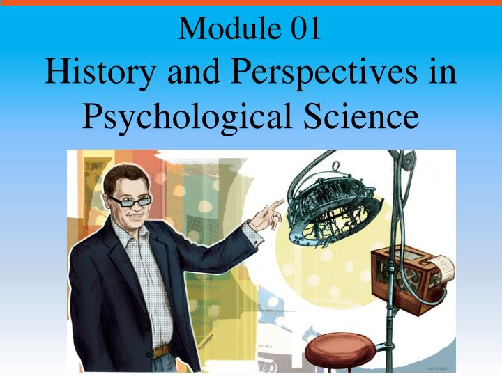 history and perspectives in psychological science n.