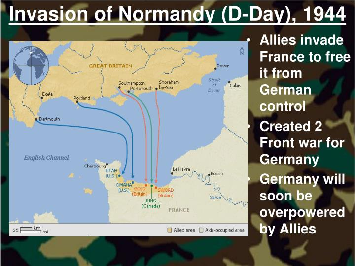 Invasion of Normandy (D-Day), 1944