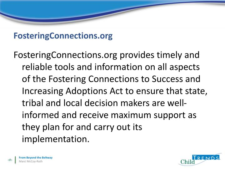 FosteringConnections.org