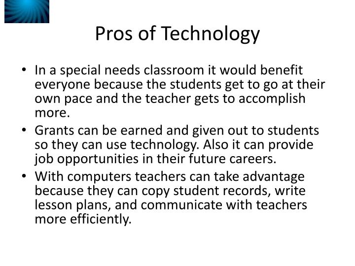 Classroom Layouts Pros And Cons : Ppt pros and cons of technology in the classroom