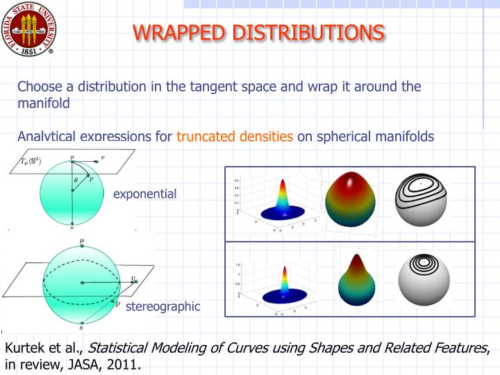 WRAPPED DISTRIBUTIONS