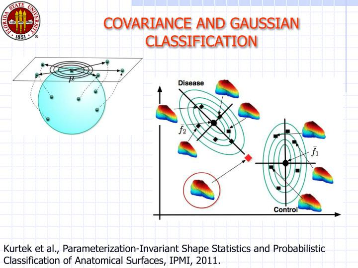 COVARIANCE AND GAUSSIAN CLASSIFICATION