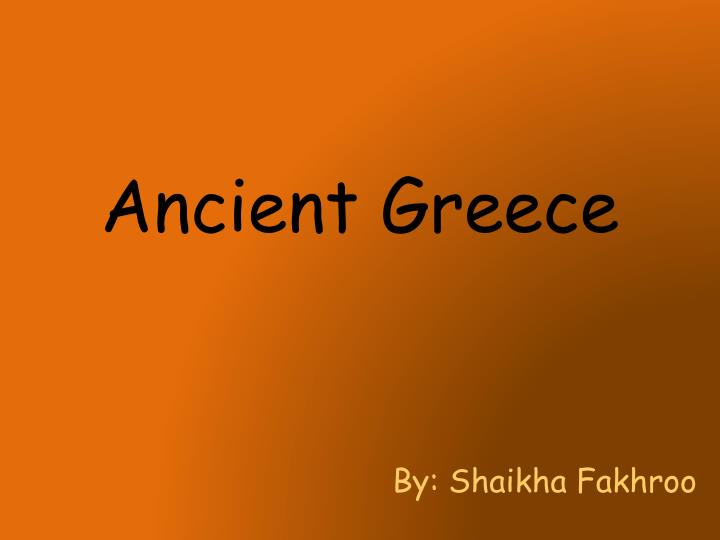ppt - ancient greece powerpoint presentation - id:2042067, Powerpoint templates