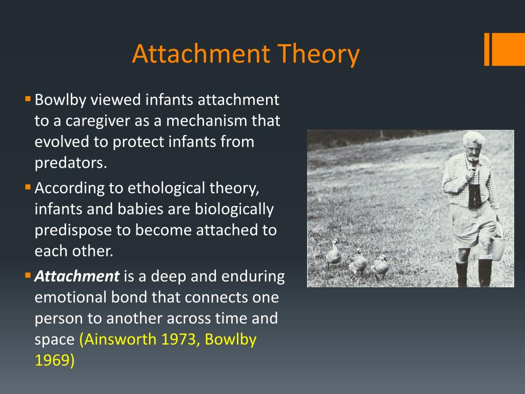 PPT - ATTACHMENT THEORY PowerPoint Presentation, free
