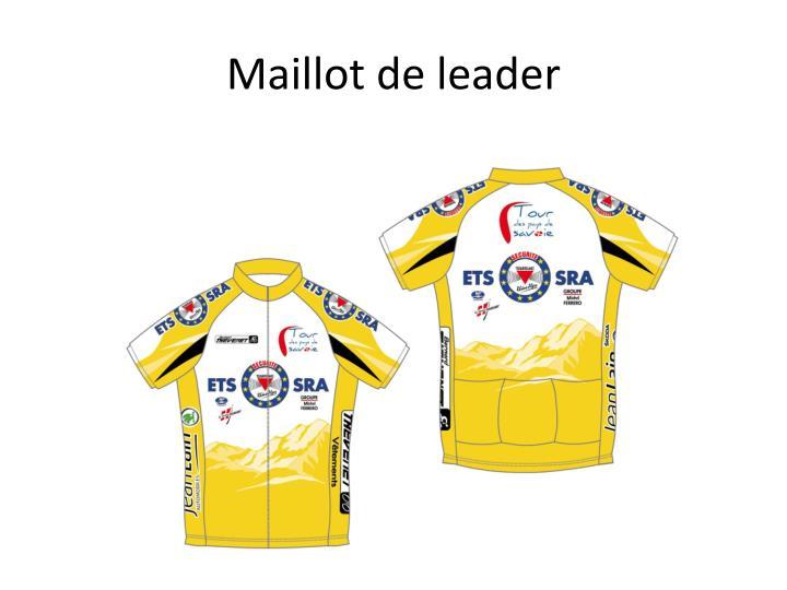 Maillot de leader