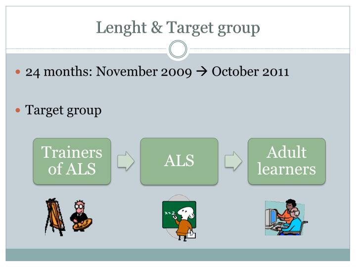 Lenght target group