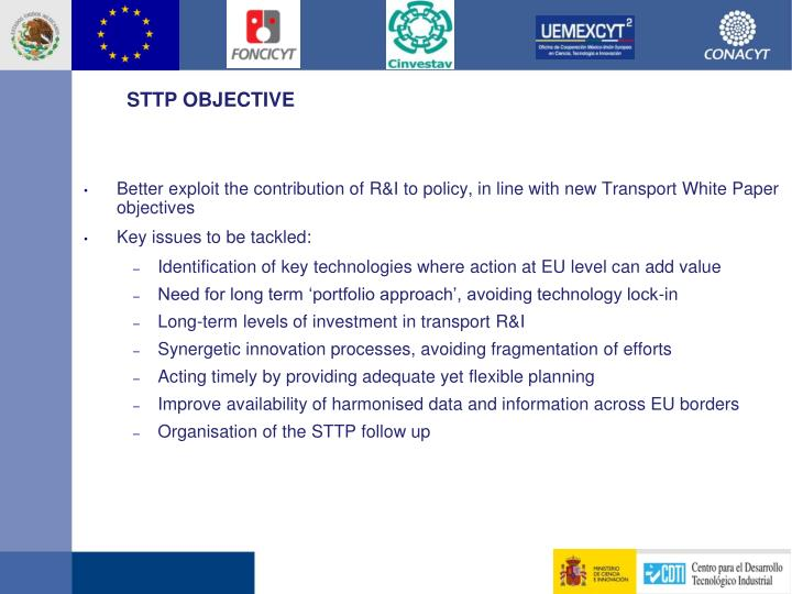 STTP OBJECTIVE